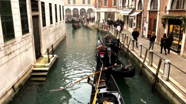 4K Time Lapse in Venice video