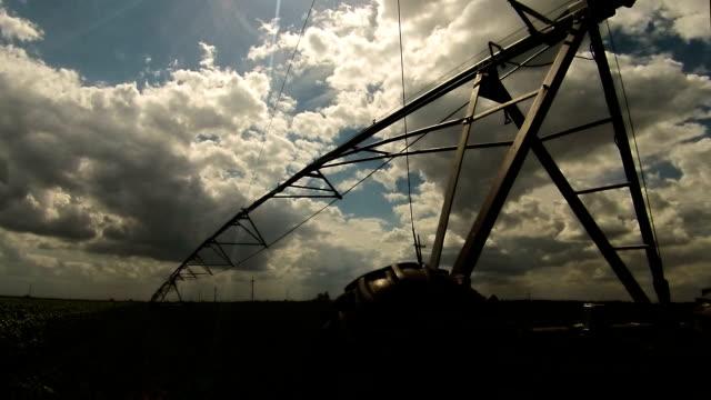 zaman atlamalı sulama sistemleri - sale stok videoları ve detay görüntü çekimi