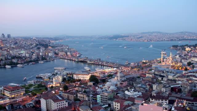 tid förflutit - istanbul eminönü 1 - 2015 bildbanksvideor och videomaterial från bakom kulisserna