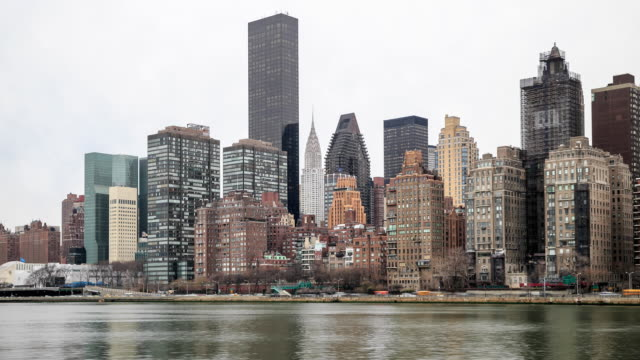 4K Time Lapse : Midtown Manhattan video