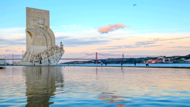 Time lapse : Monument to the Discoveries video