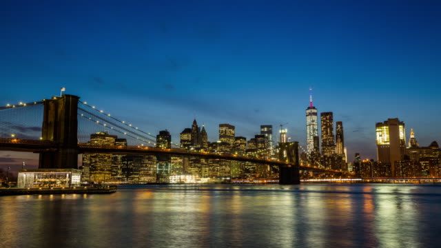 Time Lapse: New York City Skyline video