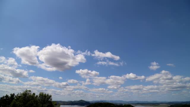 time lapse north korea sky