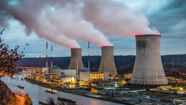 Time Lapse: Nuclear Power Plant