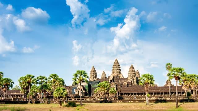 Time lapse of Angkor Wat, Siem Reap, Cambodia video