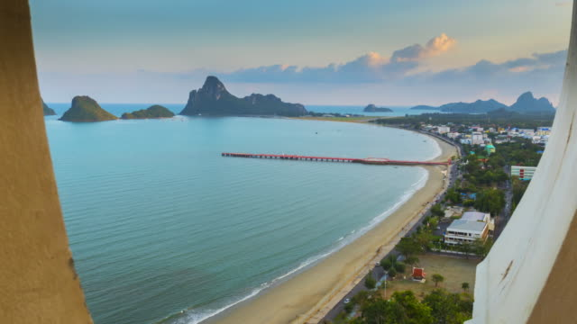 Time Lapse of Ao Manao Prachuap Khiri Khan video