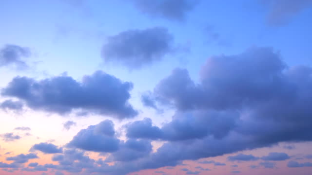 Time lapse of awesome cloudscape in 4k video