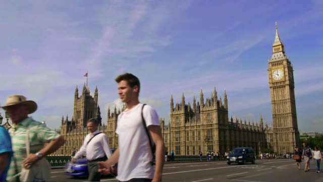 time lapse of big ben in london video