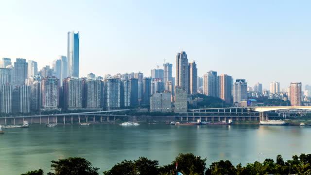 Time lapse of chongqing city,skyline,china video