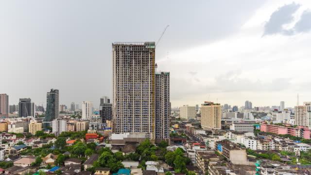 Time Lapse of Cityscape of Bangkok, Thailand