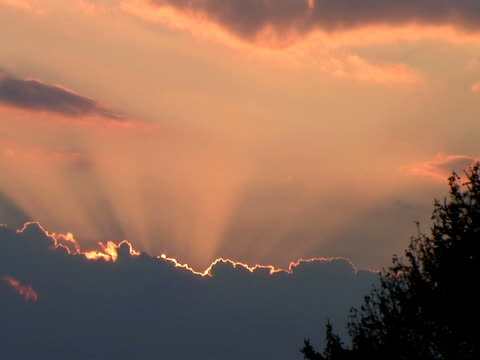 Time Lapse of Clouds at Sunset (HD_link_below) video