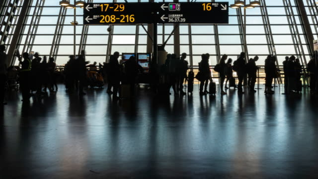 4K Time lapse of crowd passenger and tourist walking and running in rush hour at Pudong international airport terminal, Shanghai, China, Travel and Transportation concept Time lapse of crowd passenger and tourist walking and running in rush hour at Pudong international airport terminal, Shanghai, China, Travel and Transportation concept, 4k clip airport runway stock videos & royalty-free footage