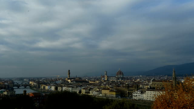 Time lapse of Florence old town, including cathedral/ Duomo in Italy Time lapse of Florence old town, including cathedral/ Duomo in Italy royalty stock videos & royalty-free footage