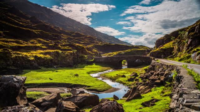 Time lapse of Gap of Dunloe in Ireland video