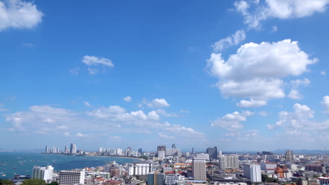 Time lapse of High-angle view of the Pattaya city Video Time lapse of High-angle view of the Pattaya city. 4K(UHD) 3840x2160 format. pattaya stock videos & royalty-free footage
