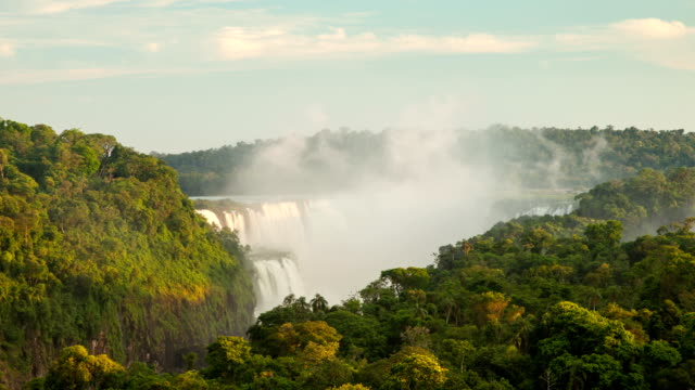 Time Lapse of Iguazu Falls in Argentina video