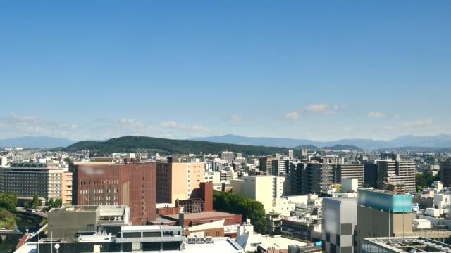 熊本市の時間経過 - 地域点の映像素材/bロール