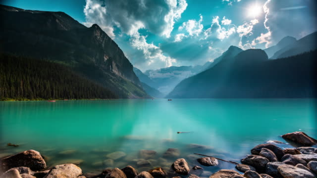 Time Lapse of Lake Louise in Canada