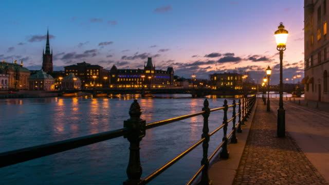 tidsfördröjning för lilla värtan i stockholm - stockholm bildbanksvideor och videomaterial från bakom kulisserna