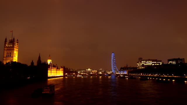 Time Lapse of London's Westminster with Fireworks video