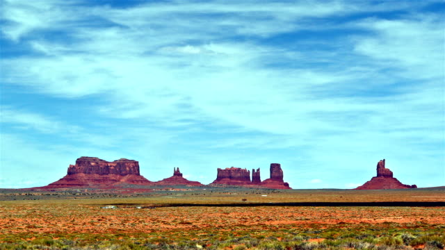 time lapse of Monument Valley video