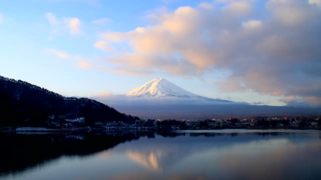 Time lapse of Mt Fuji - Stock Video video