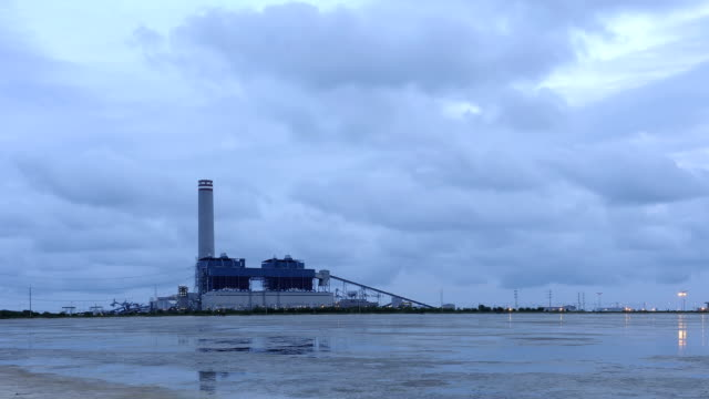 Time Lapse of Power Plant video