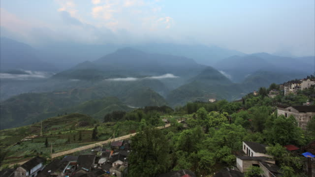 Time Lapse of Sapa Region Landscapes, Vietnam video