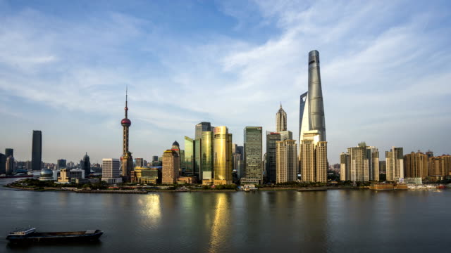 Time lapse of Shanghai day to night transition Time lapse of Shanghai day to night transition sunset to night time lapse stock videos & royalty-free footage