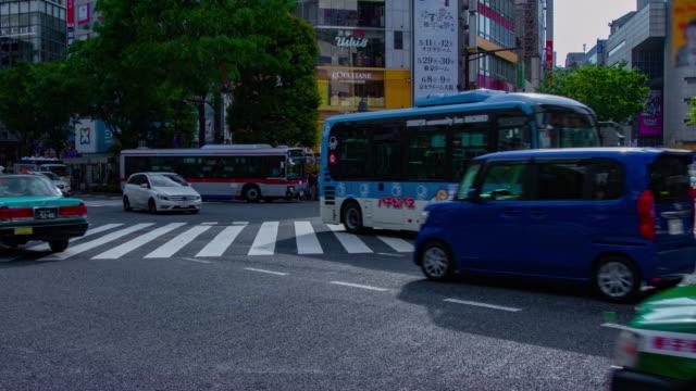 Ein Zeitraffer der Shibuya-Überfahrt – Video