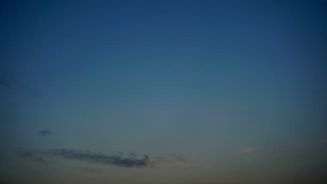Time lapse Of Sky and Cloudscape Moving. - vídeo