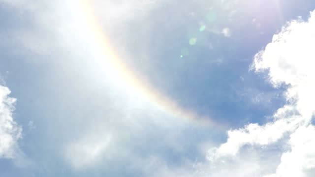 Time lapse of super natural corona ring of sun video