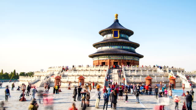 Time lapse of Temple of Heaven video