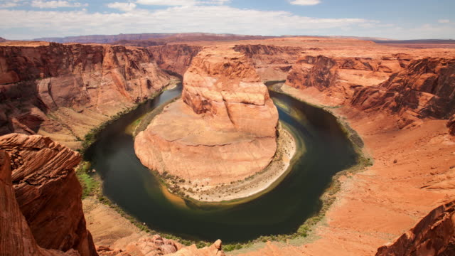 Time lapse of the amazing horseshoe bend in the Colorado River