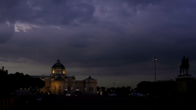 Time lapse of The Ananta Samakhom Throne Hall video