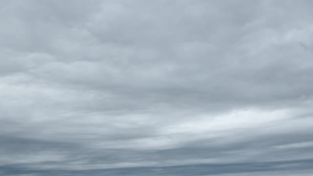 time lapse of the cloudy sky - video