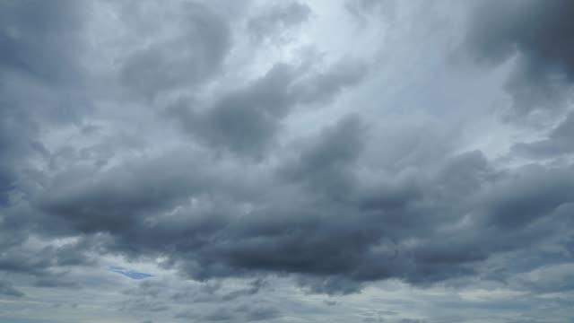 stockvideo's en b-roll-footage met time lapse van de bewolkte hemel - bewolkt