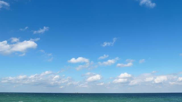 海景の時間経過 - 水平線点の映像素材/bロール