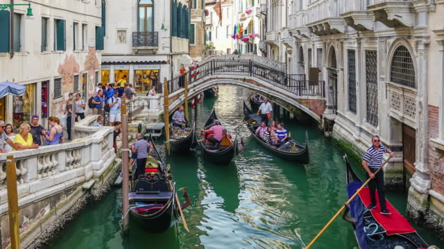 4K time lapse of venice video