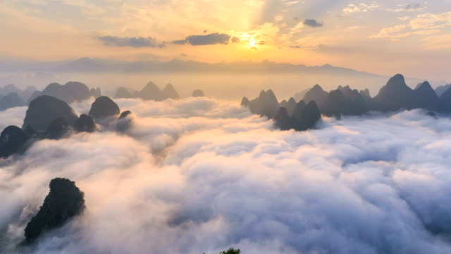 Time Lapse Of Yangshuo