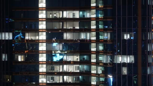 4K Time lapse office building