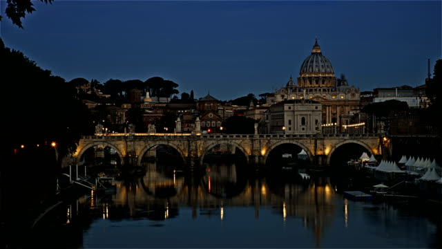 Time lapse on Vatican - Saint Peter Basilica video