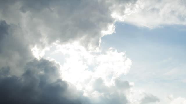 Time Lapse: Rolling Cloudscape video