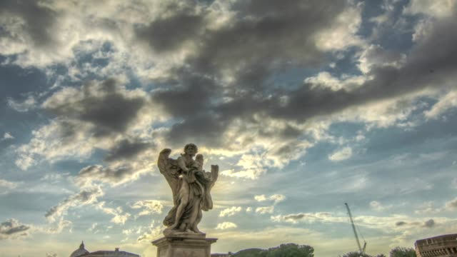 Time Lapse Roma Ponte Sant'Angelo video