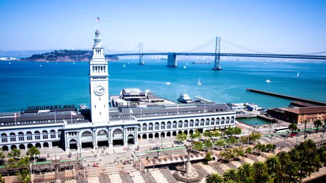 Time Lapse - San Francisco, Ferry Building video