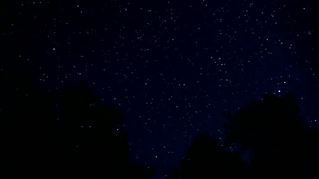 Time Lapse Stars and Planets video