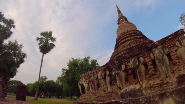 Time Lapse Sukhothai Historical Park, Thailand video