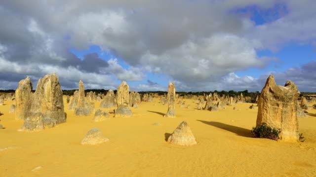 4K Time lapse: The Pinnacles Desert, Western Australia video