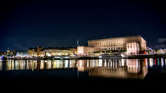 HD Time Lapse: The Royal Palace in Stockholm