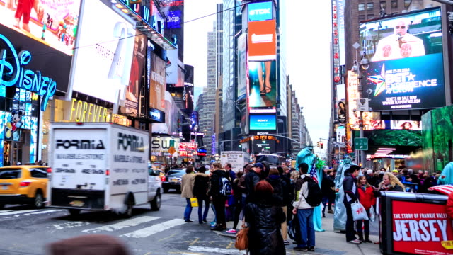 HD Time Lapse : Times Square NYC video